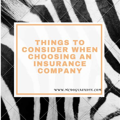 some factors to consider for choosing the perfect modern things to consider when choosing an insurance company