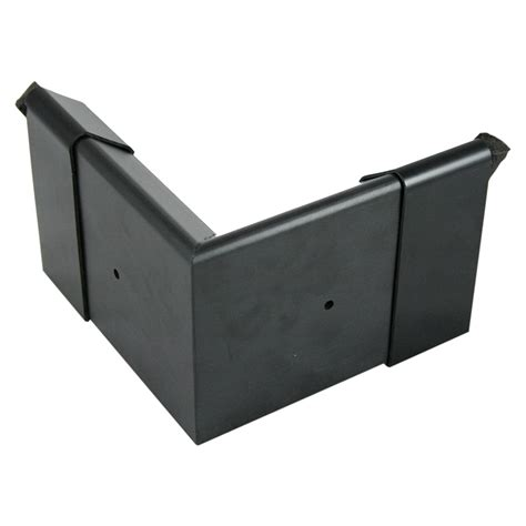 external check quicktrim external check corner 80mm x 80mm black