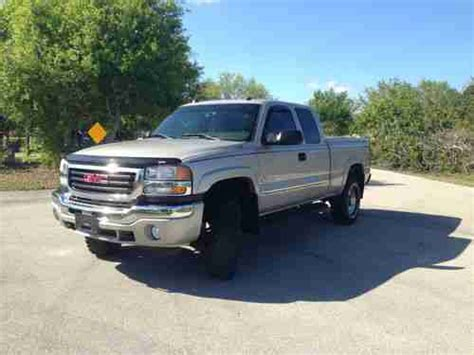 electric and cars manual 2005 gmc sierra 2500 on board diagnostic system find used 2005 gmc sierra 2500 4x4 duramax diesel allison slt ext cab florida truck loaded in