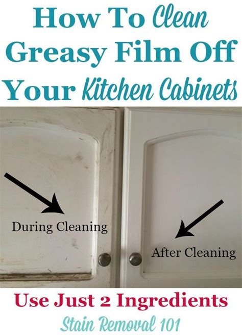 How To Clean Kitchen Grease Buildup by Clean Kitchen Cabinets With These Tips And Hints