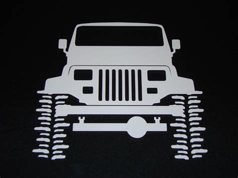 Stickers Jeep Wrangler Yj by Jeep Yj Wrangler Crawler Sticker Decal 27 Ebay