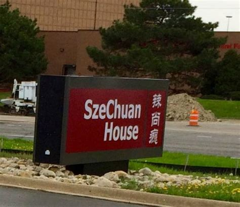 Szechuan House by Front Signage Across From The Fv Mall Picture Of