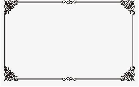 decorative border download retro borders decorative borders frame png image and