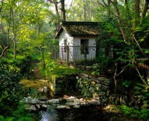 Small Houses Architecture by Forest House Jigsaw Puzzle