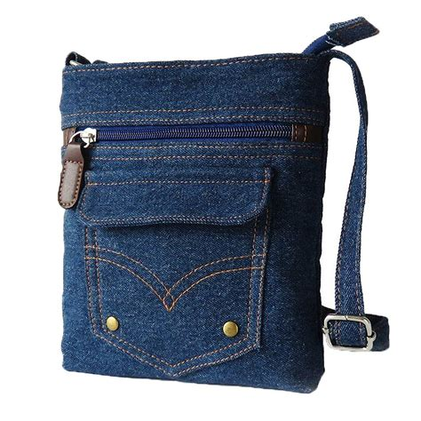 Bag Denim donalworld mini denim cross bag messenger