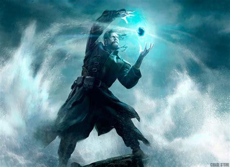 magic  gathering wizards   coast  behance
