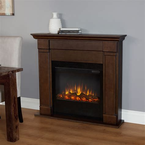Vintage Electric Fireplace by Real Lowry Slim Line Electric Fireplace In Vintage