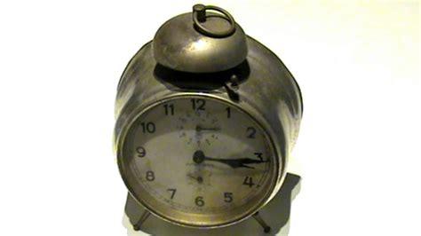 alarm clock sound ringing made in germany 1920 s 30 s