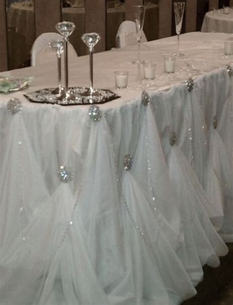 draping wedding draping head table for dar