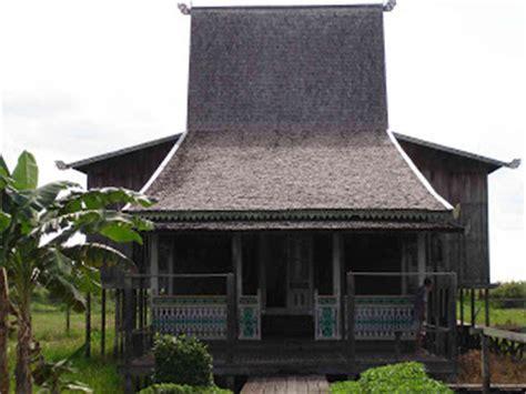 gambar rumah adat tradisional indonesia kebudayaan