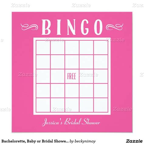 bachelorette bingo template 17 best images about bridal shower on