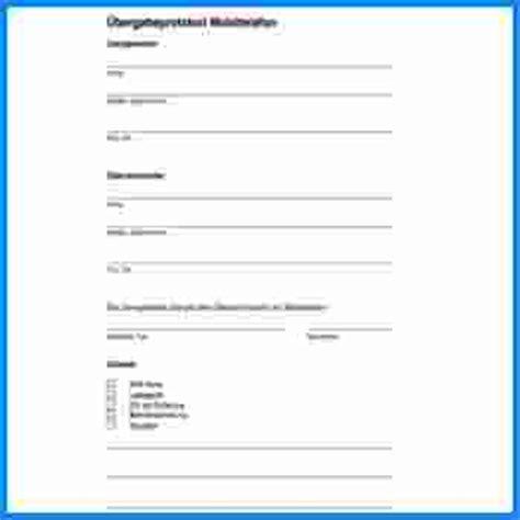 wohnung formular 252 bergabeprotokoll wohnung formular invitation templated