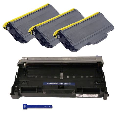 Serbuk Toner Printer Laser Printer Hl2240 Hl2140 Tn450 Tn360 tm compatible toner cartridge replacement for tn330 tn360 high yield 2 black