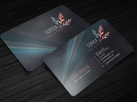 amazing business card templates amazing free business card photoshop template cursive q