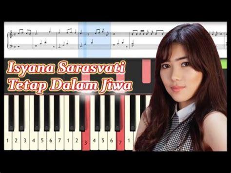 tutorial keyboard lagu tetap dalam jiwa tetap dalam jiwa isyana sarasvati piano tutorial youtube