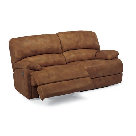 dylan power leather sofa flexsteel 1127 620p dylan leather power two cushion