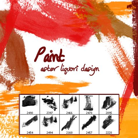 Ester Set Premium Quality By Mauri premium brush set paint psdfan