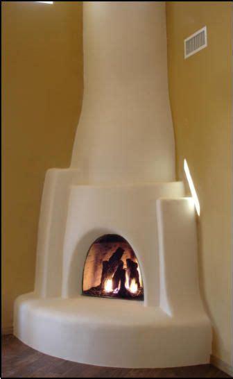 navajo kiva fireplace kit adobe homes