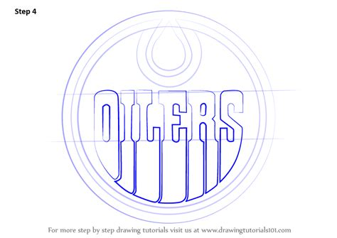 Edmonton Oilers Logo Outline by How To Draw Colorado Avalanche Logo Step 1 How To Draw Edmonton Oilers Logo Step By Step How