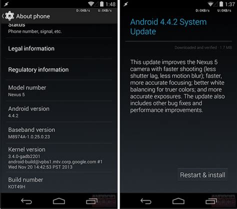 what is android 4 4 2 android 4 4 2 ya disponible para descargar en tus dispositivos nexus el androide libre