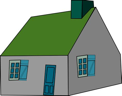 the basic house clipart basic house