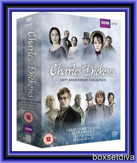 charles dickens biography dvd charles dickens 200th anniversary collection brand new