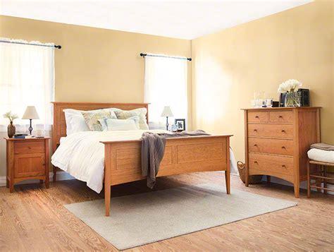 shaker bedroom furniture sets american shaker style bedroom furniture set solid cherry