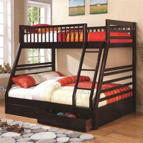 coaster furniture ashton twinfull bunk bed  series   finishes honey oak