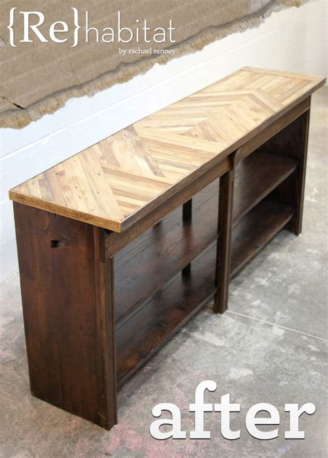 advanced woodworking salvaged buffet table image