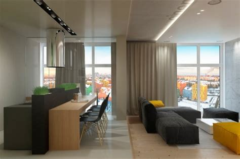 Farbige Akzente Wand by Raumgestaltung Ideen In Grau 5 Moderne Appartements