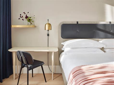 bedroom furniture ta this look a scandi bedroom in a soho hotel remodelista