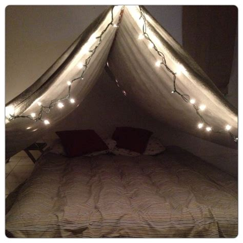 the bed tent indoor tent romantic kids sleepover party ideas