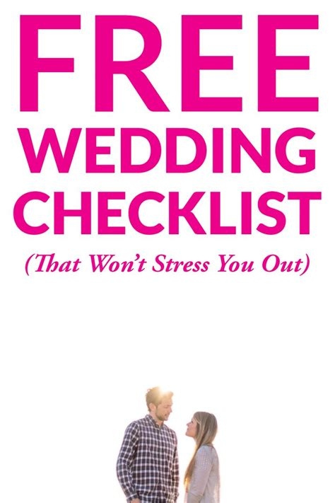 Wedding Checklist Free by Get Our Free Downloadable Wedding Checklist