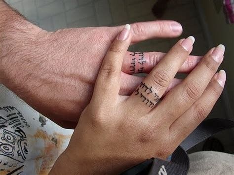 finger tattoo buzzfeed 33 impossibly sweet wedding ring tattoo ideas you ll want