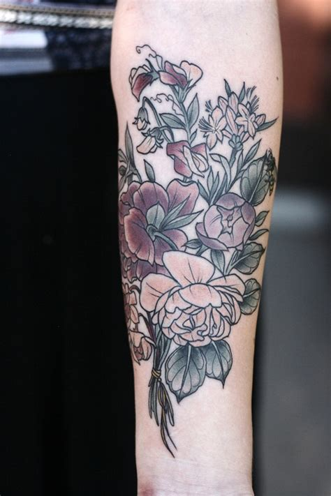 flower tattoo designs on arm floral tattoos designs ideas and meaning tattoos for you