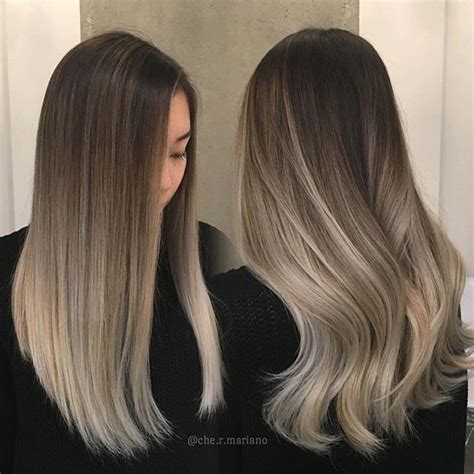 balayage hair color vs ombre best 25 balayage vs highlights ideas on