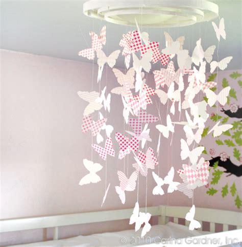 How To Make A Paper Butterfly Mobile - the great origami mobile that i ll never make this is