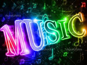 Colorful music neon sign muisc neon neonsigns http www pinterest