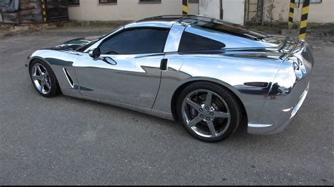 Chrom Auto by Chrome Corvette Car Tintek Wrap Wmv