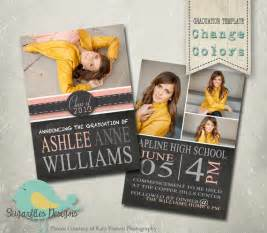 graduation announcement templates senior graduation 19