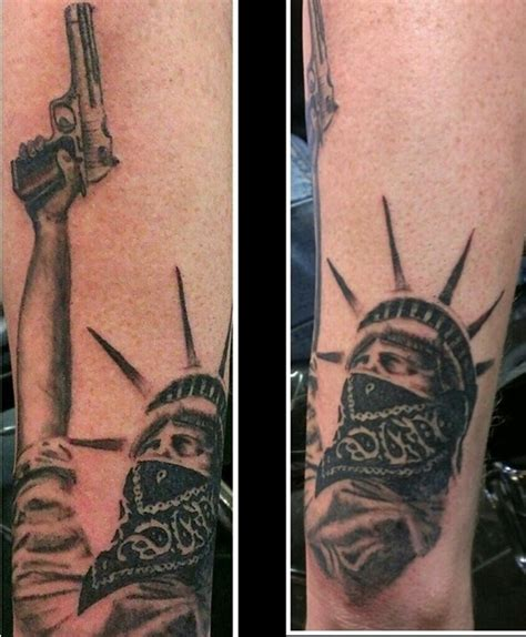 30 ultimate statue of liberty tattoos ideas