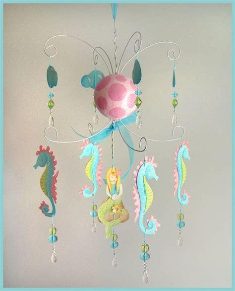 chandelier baby mobile mermaid chandelier mobile baby mobile nursery mobile