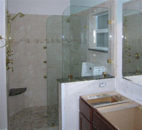 bathroom glass partition images glass partitions in fl