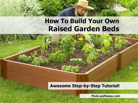 How To Build A Raised Bed Garden Frame How To Build Your Own Raised Garden Beds