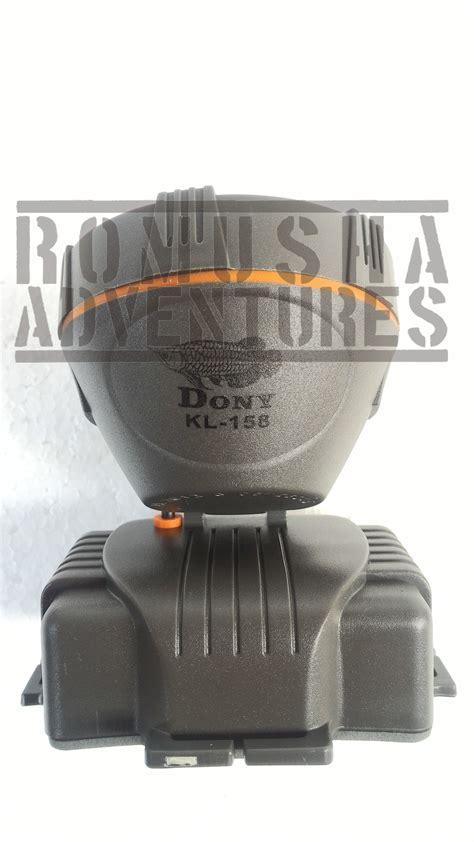 Senter Dony Kl 169 jual dony kl 158 headl senter kepala led kuning fokus