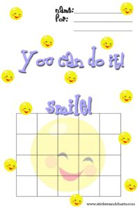 smiley behavior chart template image gallery smiley chart