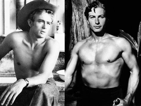 x files bear actor hollywood hunks laid bare 1940s 1950s