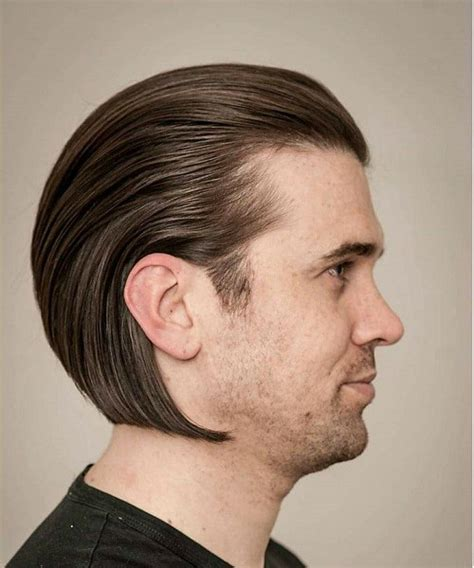 Slick Medium 20 trendy slicked back hair styles