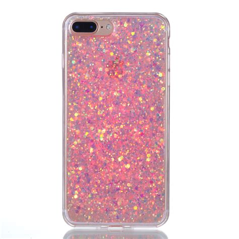 bling sparkle glitter rubber tpu slim cover for iphone 5s 6s 7 plus ebay