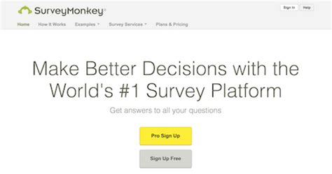 Web Based Survey Tools - 50 killer tools for customer centric marketers